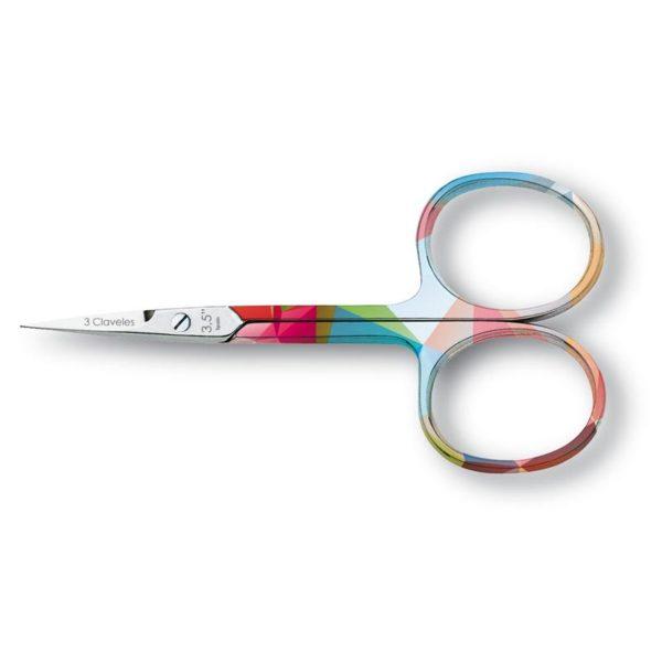 3 Claveles Nożyczki do skórek Geometry 3,5″