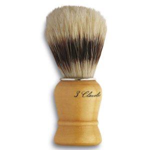 3 Claveles Pędzel do golenia naturalne włosie