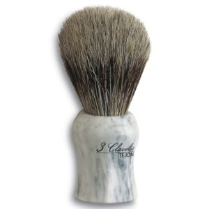 3 Claveles Pędzel do golenia włosie borsuka