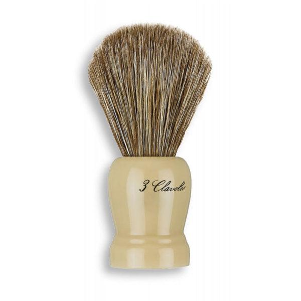 3 Claveles Pędzel do golenia z nat. włosiem