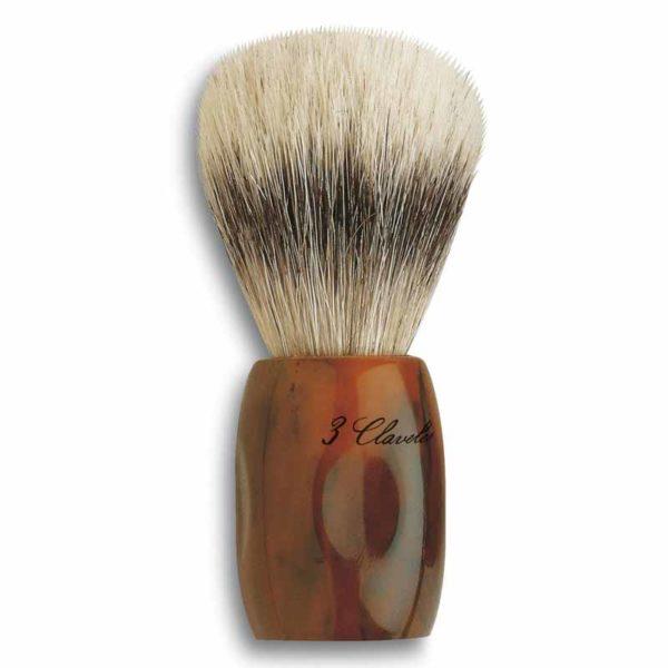 3 Claveles Pędzel do golenia z naturalnym włosiem końskim