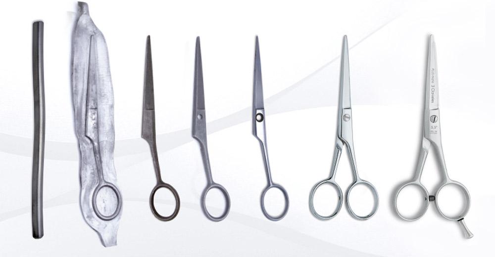Jak powstają nożyczki fryzjerskie?