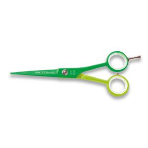 3 Clavele Nożyczki fryzjerskie COOL 5,5″ + brzytwa