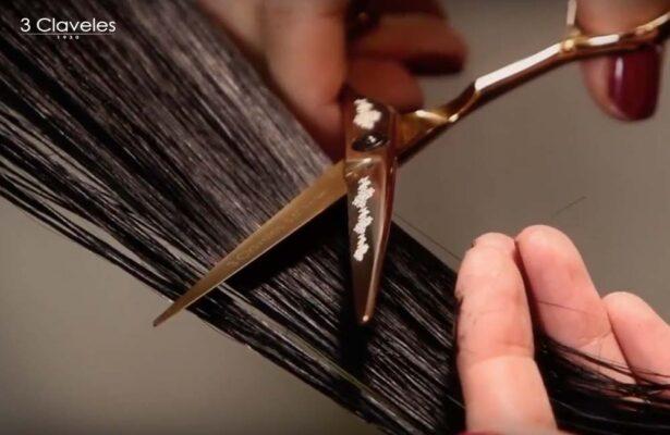 Podcinanie końcówek na ratunek włosom